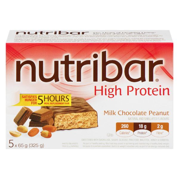 Nutribar Lifest Ch Pean Meal Bar