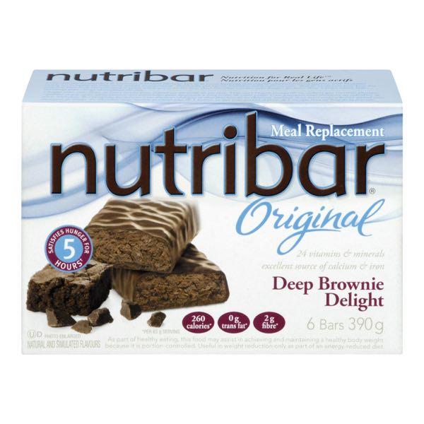 Nutribar Supr Brownie Meal Rep