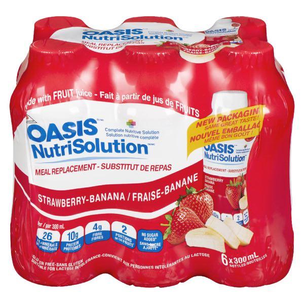 Oasis Nutrisol Strawberry Banana