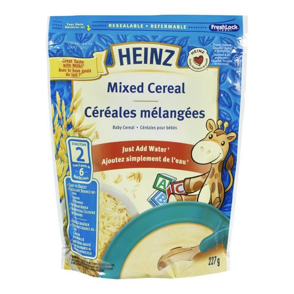 Heinz Mixed Stage2 6M Water Bb Cer