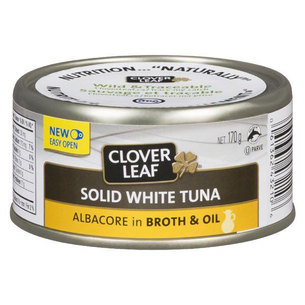 Clov Leaf Whole Wh Tuna In Oil