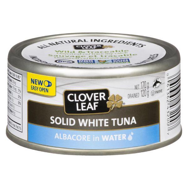 Clov Leaf Whole Wh Tuna Water