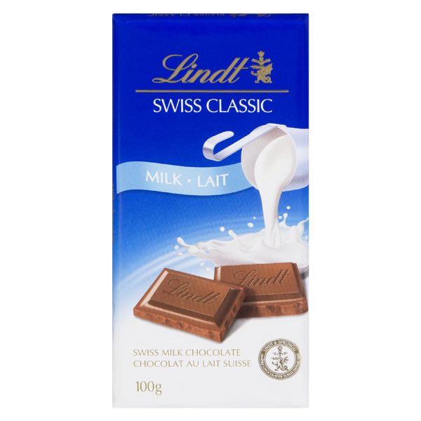 Lindt Swisscl Milk Choc Bar