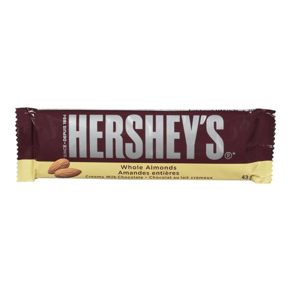 Hershey Almond Choc Bar