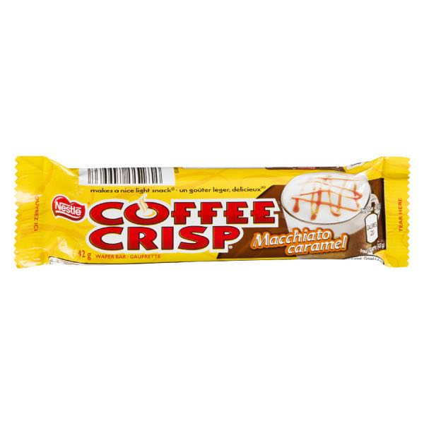 Nestle Cof Crisp Macc Caram Choc Bar