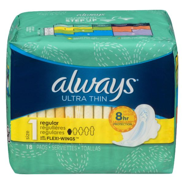 Always Sanit Napkin Ult Thin Plus Wing