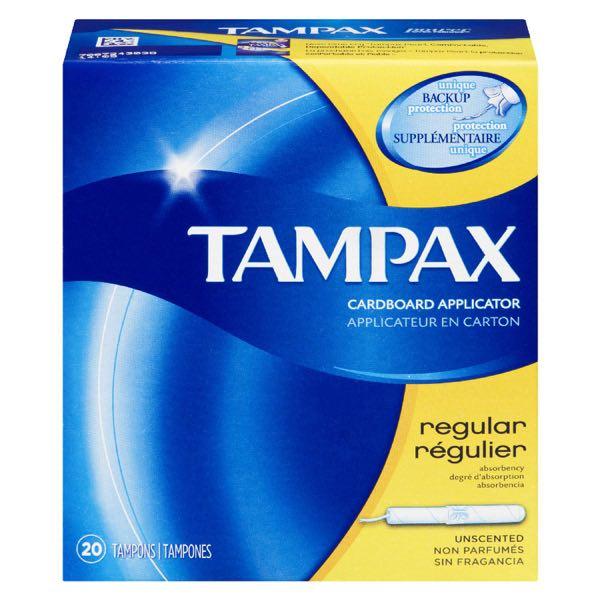 Tampax Sanit Tampon Regular