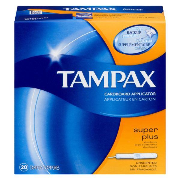 Tampax Sanit Tampon Super Plus