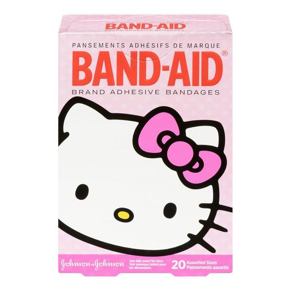 Band Aid Hello Kitty Bandag St Asst