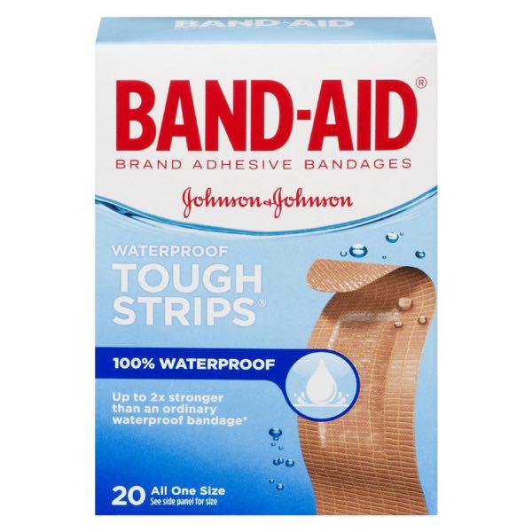Band Aid Tough Strip Bandage