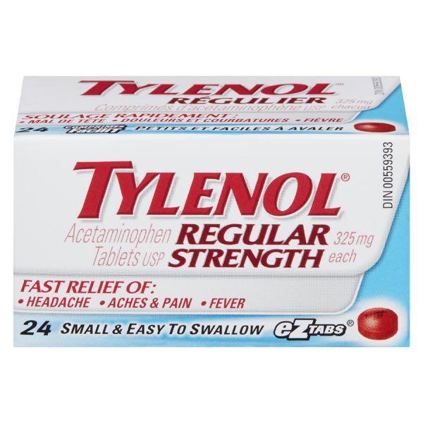 Tylenol Reg Acetam Adult Tablet