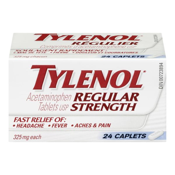 Tylenol Reg Acetem Caplet Adult