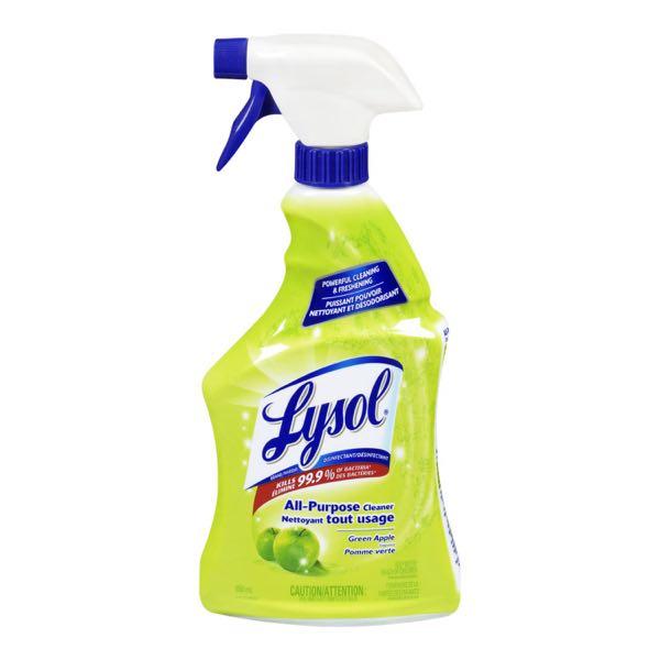 Lysol Gr Apple Trig M Purp Cl