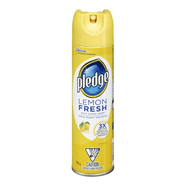Pledge Furn Polish Aerosol Lemon