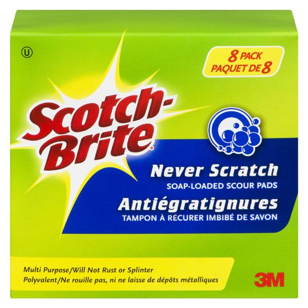 Scotchb Never Scratch Wool S Pad