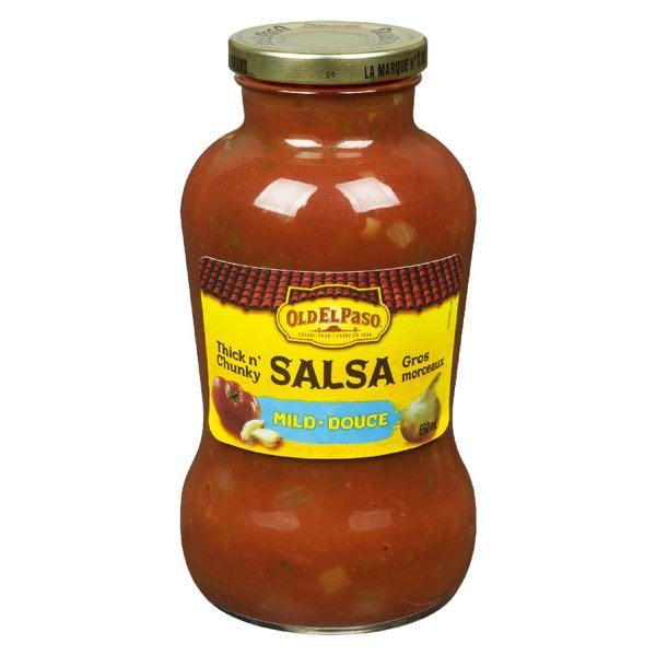 Old El Paso Mild Big Chunk Salsa Sce