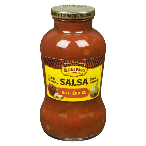 Old El Paso Salsa Sce Hot And Chunky