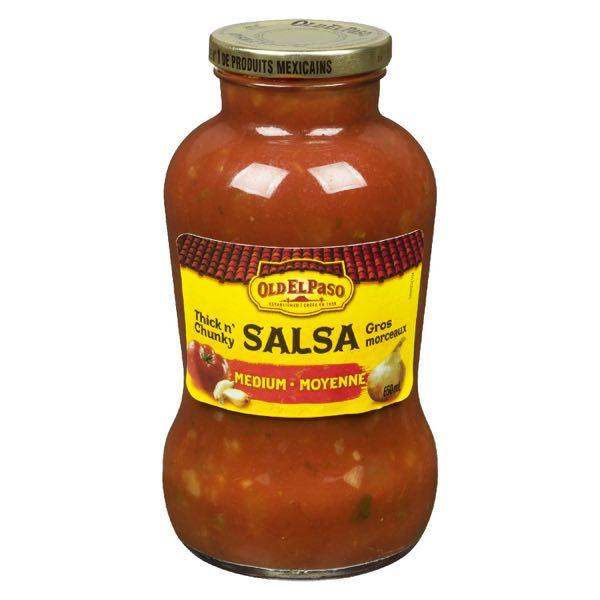 Old El Paso Salsa Sce Med Chunky