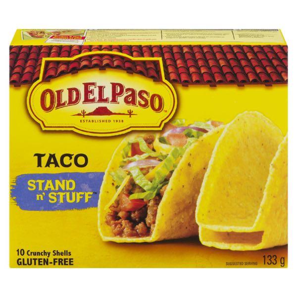 Old El Paso Shell Standn Stuff Taco