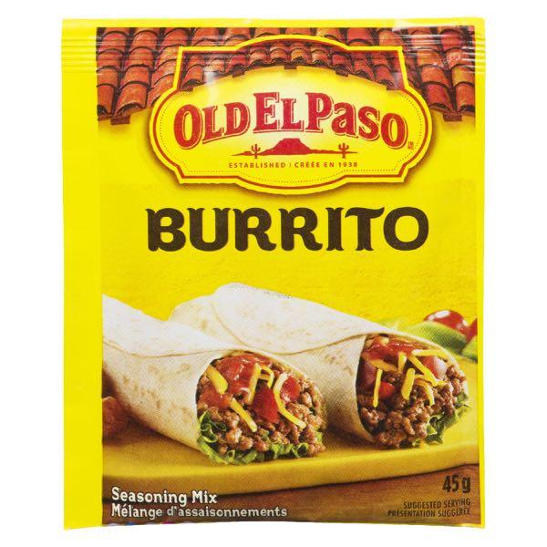 Old El Paso Burrito Seas