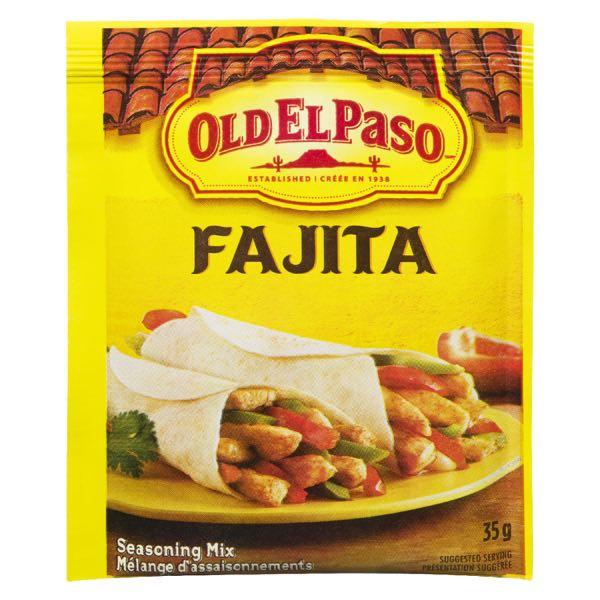 Old El Paso Fajitas Seas