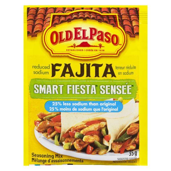 Old El Paso Smart Fiesta Fajita Seas