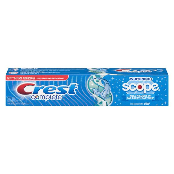 Crest Icy Mint Fr Scop Toothpaste