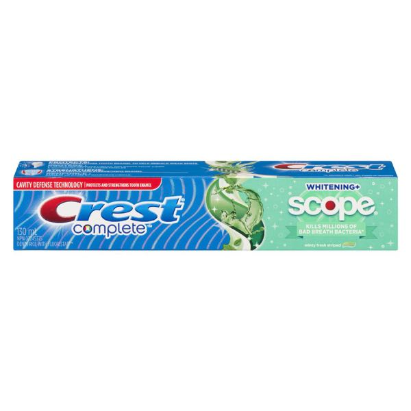 Crest Whit Fr Mint Scope Toothpaste