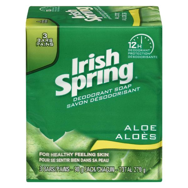 Irishspr Soap Bar Aloe
