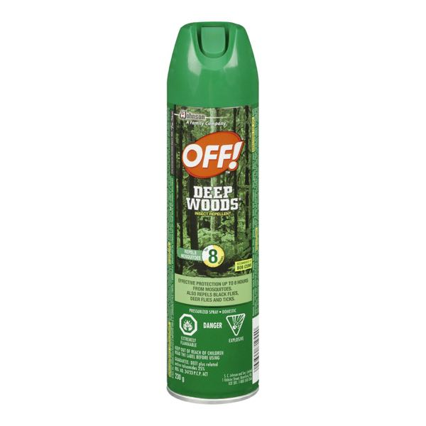 Off Deep Wood Insectic