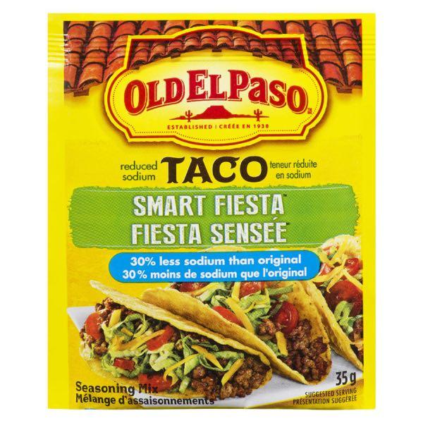 Old El Paso Less Salt Taco Seas
