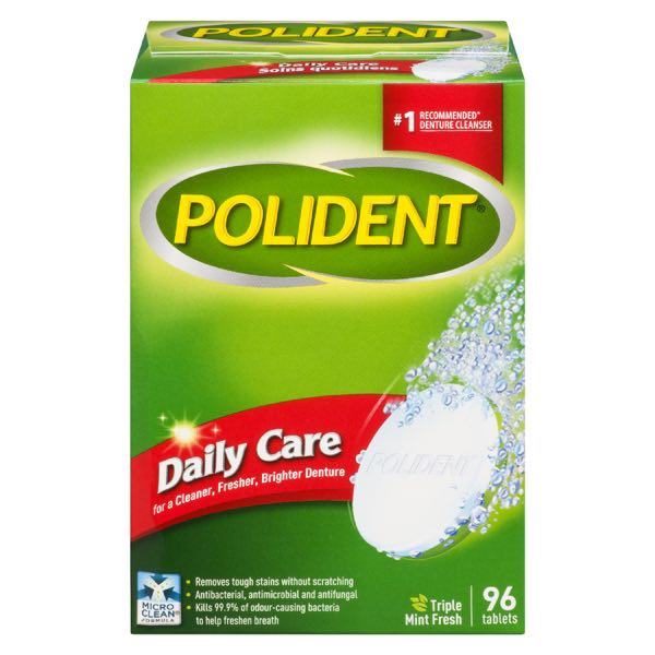 Polident Denture Prod Daily Care