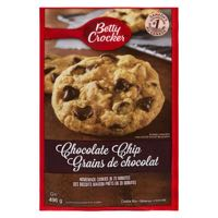 Betty Crockr Cookie Mix Chocolate Chip