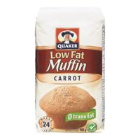 Quaker Carrot Low Fat Muffin Mix