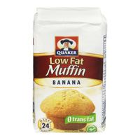 Quaker Muffin Mix Banana Low Fat