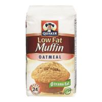 Quaker Muffin Mix Oatmeal Light