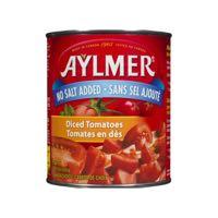 Aylmer N Salt Add Diced Tomato
