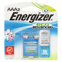 Energizer Ecoadv #Xr92Bp2 Aaa Battery