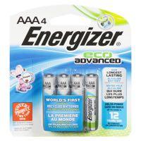 Energizer Ecoadv #Xr92Bp4 Aaa Battery