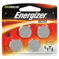 Energizer Zero Mercury #2032Bp Battery