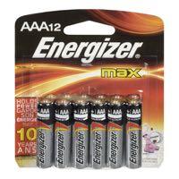 Energizer Max E92Bp12 Aaa Battery