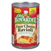 Chef Boyardee 4Cheese Ravioli Can Meal