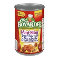 Chef Boyardee Mini Bite Can Meal