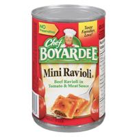 Chef Boyardee Mini Ravioli Can Meal