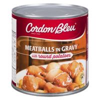 Cordon Bleu Stew Meatball And Potato