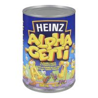 Heinz Alpha Ghetti Can Meal