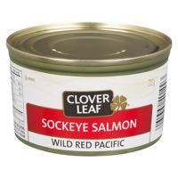 Clov Leaf Sock Salmon
