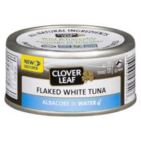 Clov Leaf White Tuna Flaked Water