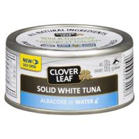 Clov Leaf Whole Wh Tuna Water