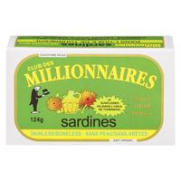 Millionn Skinl Bonel Oil Sardine